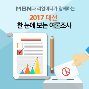 2017 대선, 한 눈에 보는 여론조사