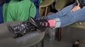 나르샤가 공개하는 다리가 길어 보이는 스팽글 부츠!