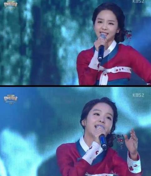 송소희 홀로 아리랑 / 사진=KBS'불후의명곡' 캡처