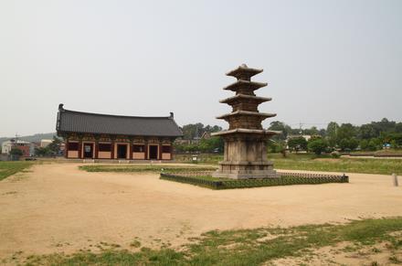 한국의 유네스코 세계유산 백제 역사유적지구, 부여 정림사지/사진=문화재청