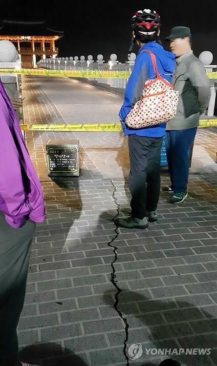 경주 규모 5.8 지진피해 / 사진=연합뉴스