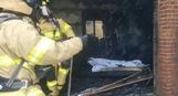 경남 거제시 한 단독주택서 화재 '집 주인 숨져'