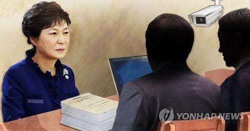 박근혜 검찰 소환/사진=연합뉴스