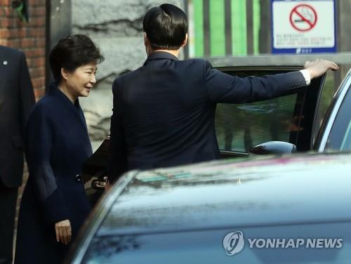 박근혜 검찰 출석/사진=연합뉴스