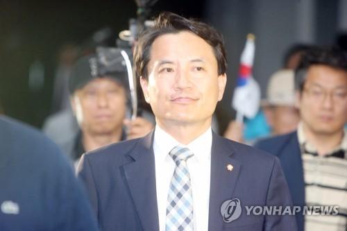 김진태 의원직 상실 위기 / 사진= 연합뉴스