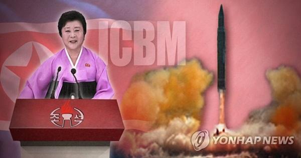 북한 화성 14형 / 사진= 연합뉴스
