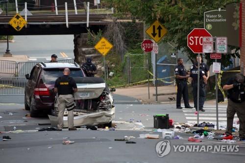 버지니아 백인우월주의 폭력 시위 / 사진= 연합뉴스