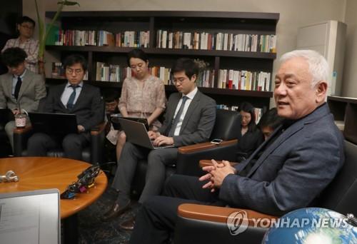 김한길 측근 김희경 / 사진= 연합뉴스