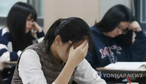 수능 하루 앞둔 15일 지진 피해/ 사진= 연합뉴스