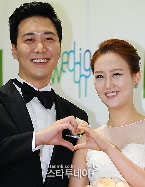 장윤정, 도경완 부부 /사진=스타투데이