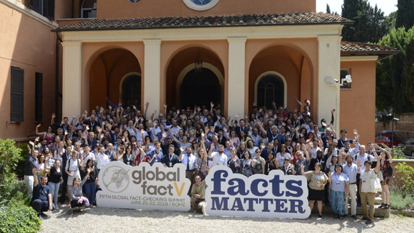 팩트체커들의 대표적인 연례행사인 '글로벌팩트5'가 지난 달 20~22일 이탈리아 로마 세인트스테판스쿨에서 열렸습니다. 56개국 225명이 참석하는 등 역대 최대 규모로 진행됐습니다...