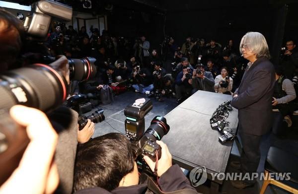 이윤택 연극연출가 /사진=연합뉴스