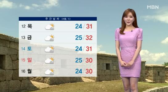 오늘의 날씨 / 사진=MBN