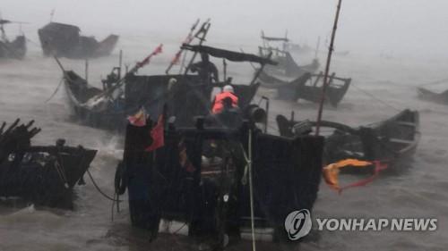 저장성 일대 항구 /사진=연합뉴스
