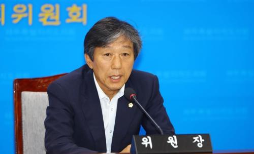 강성균 제주도의회 행정자치위원장/사진=연합뉴스