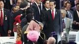[아시안게임] '바이크 타는 대통령' 인도네시아 대통령, ...