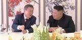 조선중앙TV가 전하는 '삼지연 초대소 오찬' (풀영상)