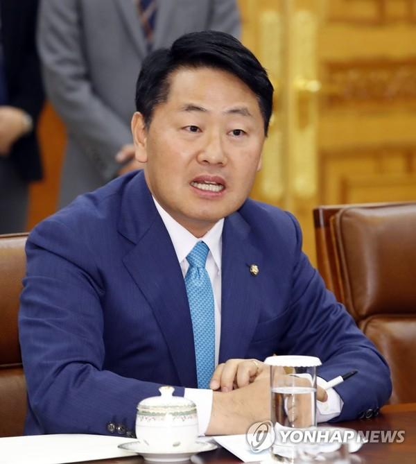 바른미래당 김관영 원내대표 /사진=연합뉴스