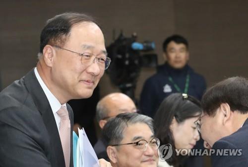 홍남기 부총리 겸 기획재정부 장관 후보자/사진=연합뉴스