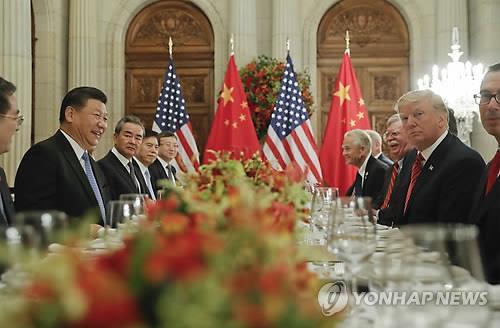 아르헨티나에서 만난 시진핑 주석과 트럼프 대통령 /사진=연합뉴스