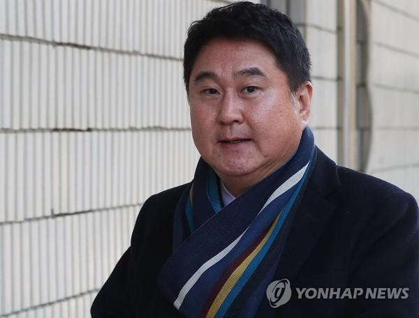 결심공판 출석한 이석우 전 카카오 대표 /사진=연합뉴스