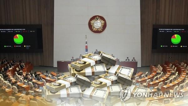 '실세' 의원들 지역구 민원예산 무더기 증액 (CG)/ 사진=연합뉴스