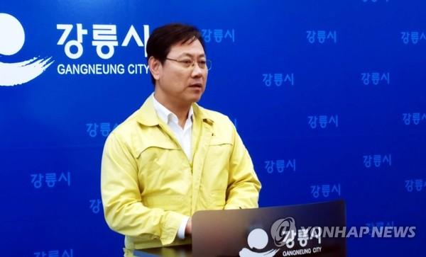코레일 사장, KTX 열차 탈선사고 브리핑/ 사진=연합뉴스