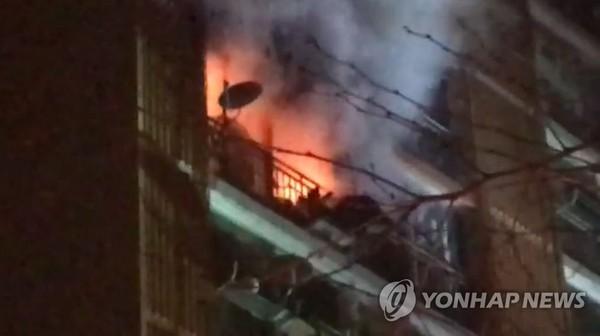 아파트 화재/사진=연합뉴스