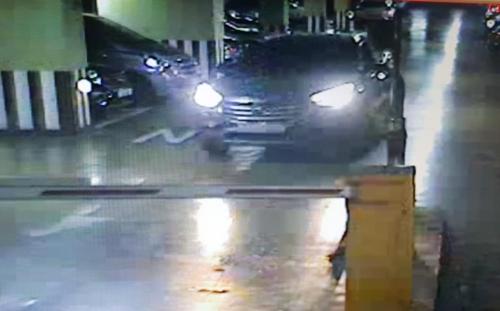 범행 후 서울 자택 폐쇄회로(CC)TV에 찍힌 피의자 차량/ 사진=인천 중부경찰서 제공