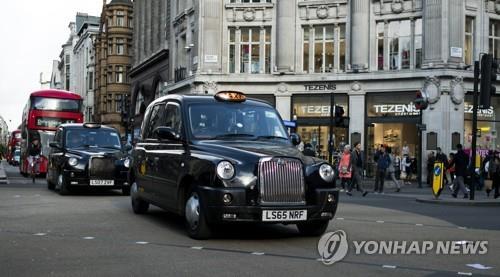 영국 런던의 택시인 '블랙캡'/ 사진=연합뉴스