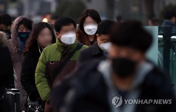 출근길 불청객 미세먼지 /사진=연합뉴스