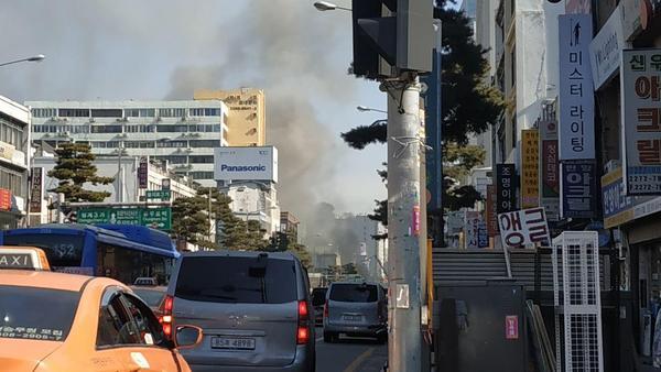 을지로 화재 /사진=MBN