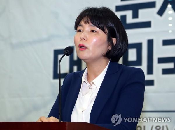 자유한국당 전희경 대변인 /사진=연합뉴스