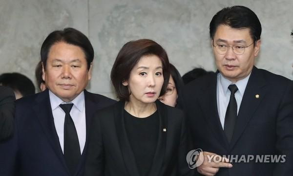 나경원 자유한국당 원내대표 /사진=연합뉴스