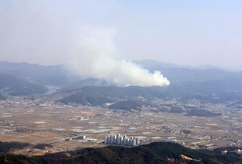 안성 화재 현장 / 사진=경기도 소방재난본부 제공