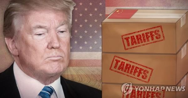 트럼프, 중국산 제품에 3차 관세 공격 /사진=연합뉴스