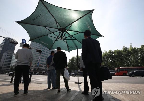태양을 피하는 방법/사진=연합뉴스