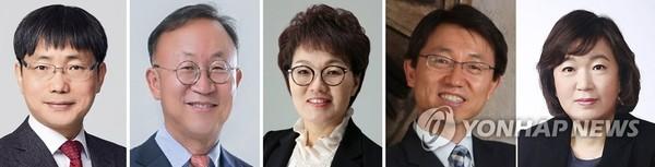 청와대 신임비서관 5명 임명 /사진=연합뉴스