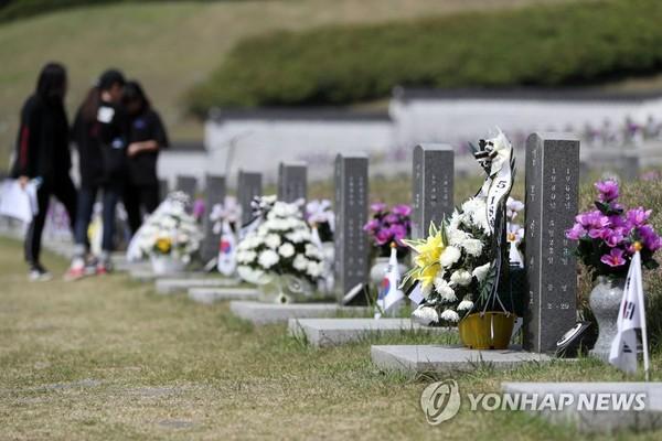 다시 찾아온 5·18, 희생자 기리는 청소년들 /사진=연합뉴스