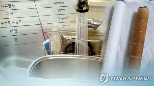 인천 '붉은 수돗물' 사태 일주일…피해지역 확산 /사진=연합뉴스
