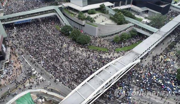 '범죄인 인도 법안'(일명 송환법)에 반대하는 홍콩의 시위대 /사진=연합뉴스
