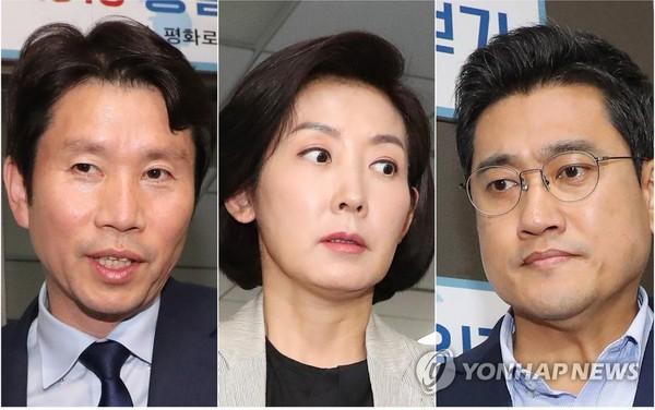 국회 정상화 결렬, 떠나는 이인영-나경원-오신환 / 사진=연합뉴스<br />