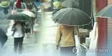 오늘의 날씨, 서울·경기 등 천둥·번개 동반한 비 오다 오후에 그쳐