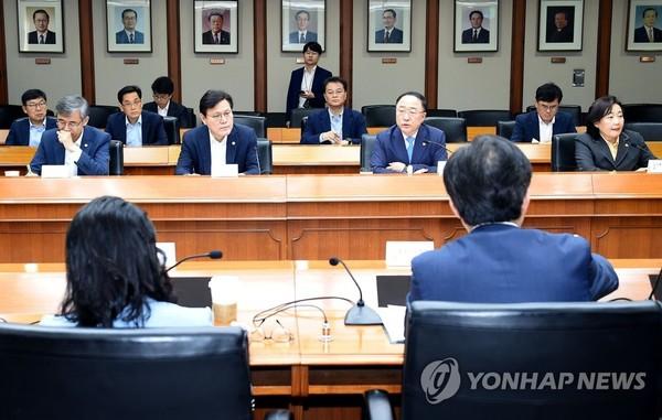 '일본 수출규제 대응 관계장관회의' /사진=연합뉴스