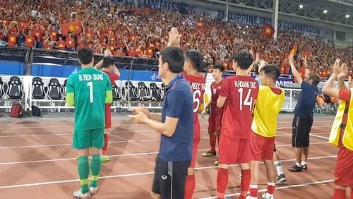 박항서호, 동남아게임서 3연승 질주 / 사진=베트남축구협회 페이스북