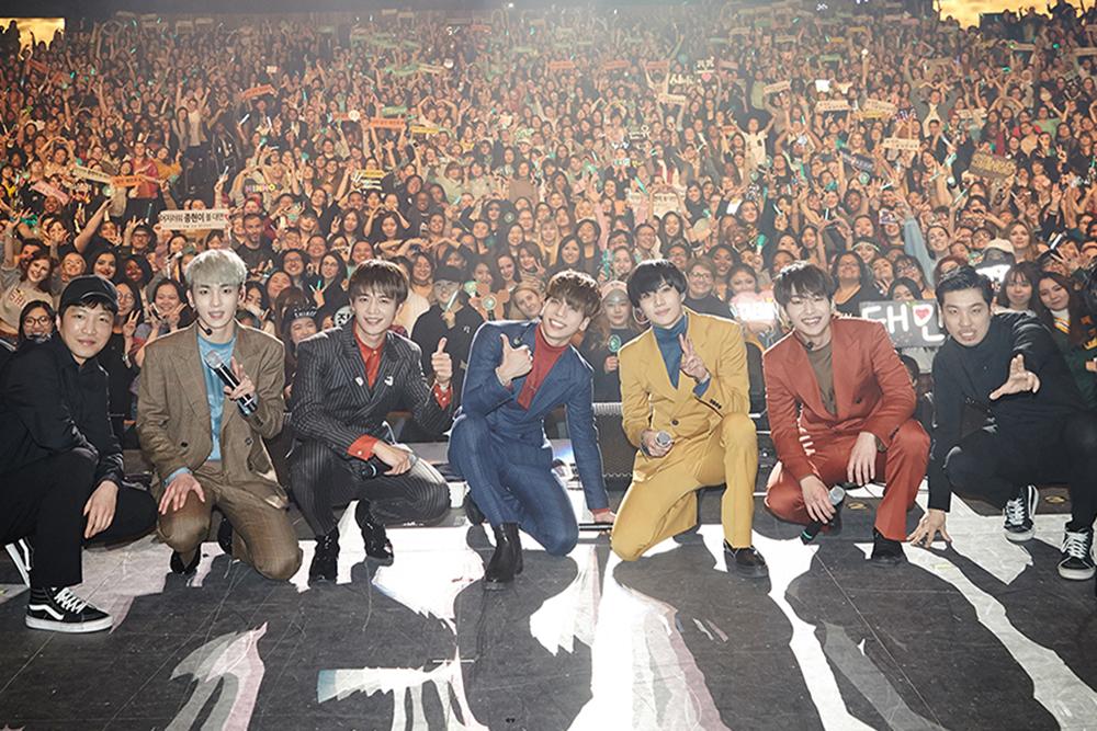 샤이니 첫 북미 콘서트 개최 사진=에스엠엔터테인먼트