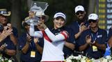 유소연, 여자골프 세계 1위 등극…한국인 세번째 쾌거