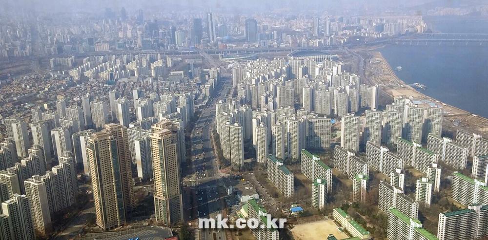 서울 시내 아파트 단지 전경 [사진 이미연 기자]