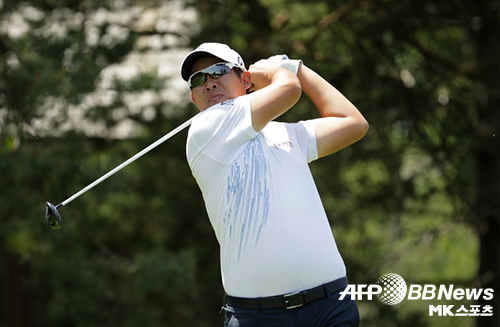 안병훈(사진)이 시즌 마지막 메이저대회인 PGA챔피언십서 2라운드 중간합계 10위에 랭크됐다. 사진=AFPBBNEWS=News1