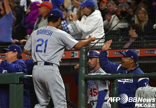 다저스는 11연패 이후 2연승을 달렸다. 사진(美 샌프란시스코)=ⓒAFPBBNews = News1